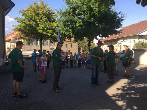 Première assemblée des scouts de Suchy-3 rivières